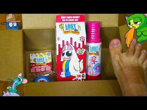 Я В ВОСТОРГЕ! Купил всех Лост Китис с МЫШАМИ Lost Kitties 3 серия