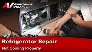 Frigidaire Refrigerator Repair - Not Cooling Properly - PLHS37EGSB1