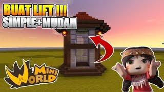 Belajar Membuat Lift Di Mini World: Block Art - SIMPLE DAN MUDAH!! TUTORIAL#4