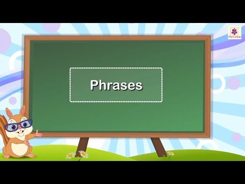 Phrases | English Grammar | Periwinkle