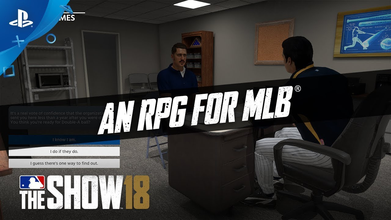 MLB The Show 18 - Feature Talk: Road To The Show Progression | PS4