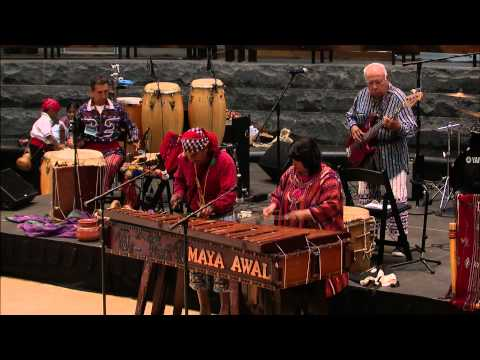Living Earth Festival 2015: GuateMarimba with Grupo AWAL