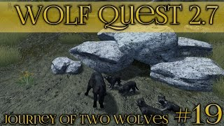 Attack of the Stranger Wolf Pack!! 🐺 Wolf Quest 2.7 - Brothers Journey || Episode #19