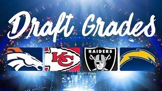 2016 AFC West Draft Grades | NFL