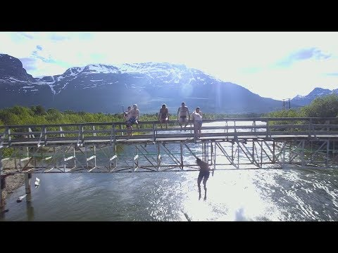Bucket List: Taking the Polar Plunge  |  Norway Travel Vlog