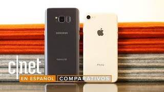 Duelo de gigantes: Samsung Galaxy S8 vs. iPhone 8