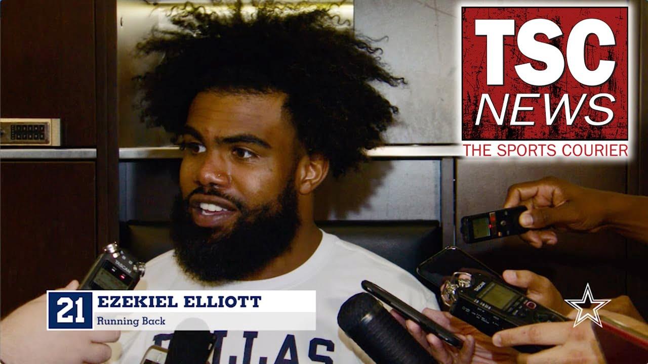 Dallas Cowboys running back Ezekiel Elliott tests positive for ...