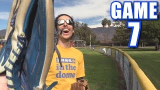 CAN I ROB A HOME RUN?! | Offseason Softball League | Game 7