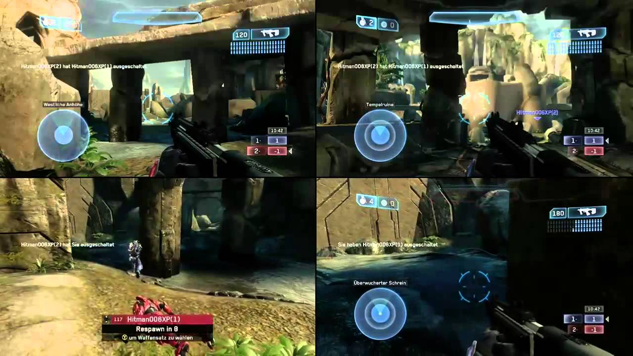 halo 4 split screen matchmaking U cant do online split screen with xbox live friends but u can play online with matchmaking and if ur playin on the same comsole then u can still have a halo 4.