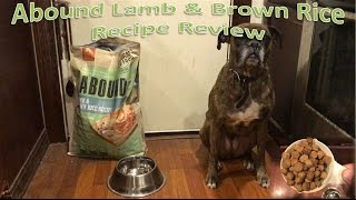 Abound Lamb & Brown Rice Recipe Review
