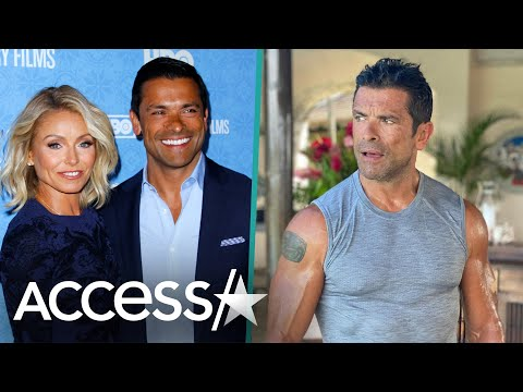 Kelly Ripa Shares Steamy Pic Of Mark Consuelos Showing Off Muscles