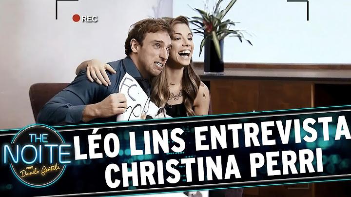 the noite 050515  lo lins conversa com christina perri