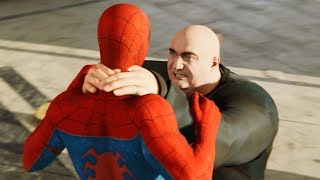 Spider-Man PS4: King Pin Boss Fight at Fisk Tower Spectacular Difficulty 4k Ultra HD 2160p