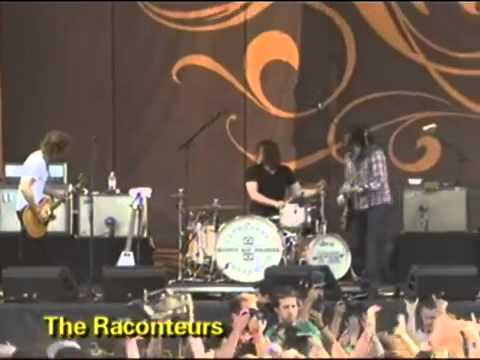 the raconteurs lollapalooza 2006 part1