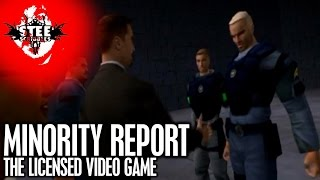 MINORITY REPORT: The Licensed Video Game | SteeScribbles