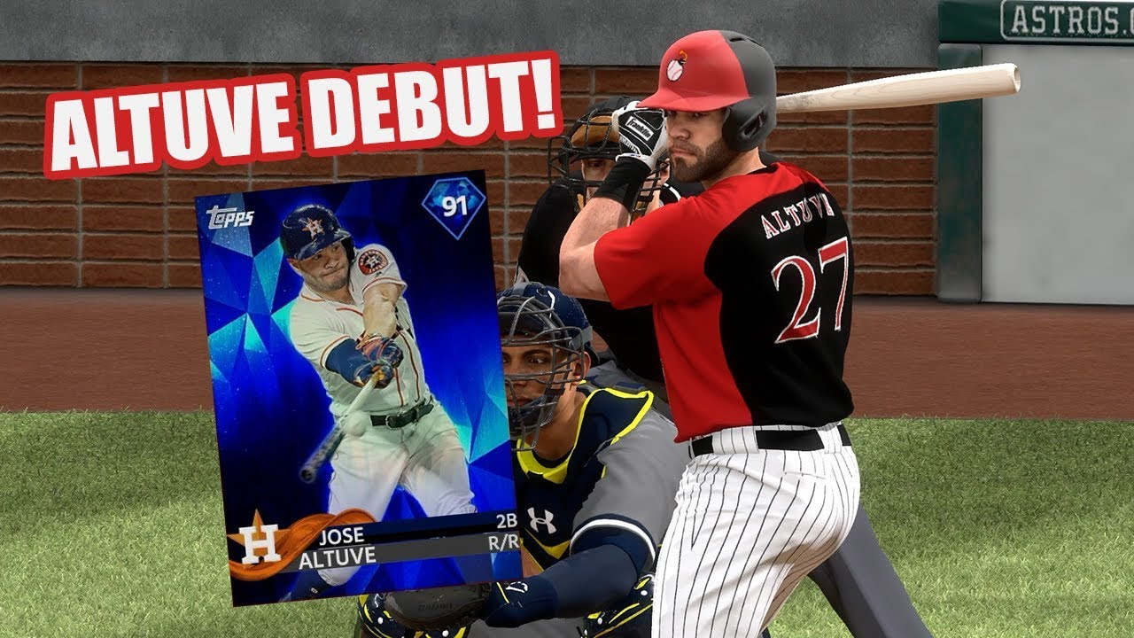 official photos 41768 addf2 91 Jose Altuve Debut! Shohei Ohtani With 8 Strikeouts! - MLB The Show 18  Diamond Dynasty Gameplay