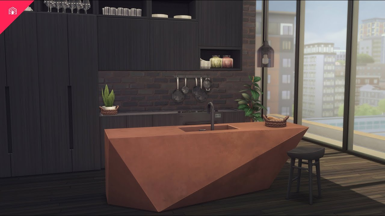 Download BROWNSTONE Kitchen Collection   CC Showcase   The Sims 4: Custom Content
