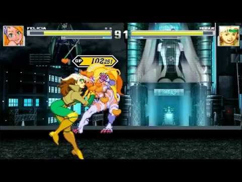MUGEN: Felicia vs Rogue (Lesbian Kissing) from YouTube · Duration:  1 minutes 59 seconds