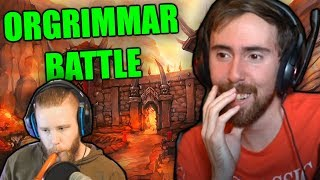 Asmongoldand39s Reaction To The Battle For Orgrimmar - An Adventure In The Classic Wow Stress Test
