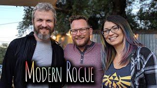 Modern Rogue HQ Tour in Austin Texas! ft. Brian Brushwood and Jason Murphy!