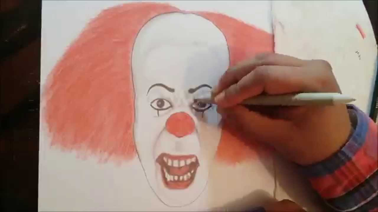 Dibujo It Eso Drawing It Youtube