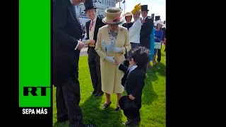 Video La reina Isabel II saluda a uno de los niños más galantes del mundo download MP3, 3GP, MP4, WEBM, AVI, FLV Agustus 2017