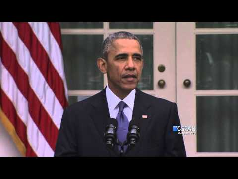 "President Obama: ""America should be very proud."" (C-SPAN)"