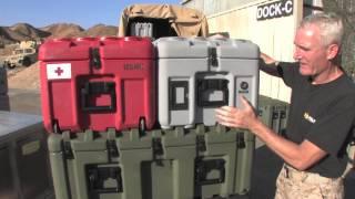 Military Transportation: Pelican-Hardigg ISP Cases HQ