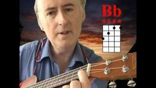 How I play the dreaded B Flat chord on my Ukulele!