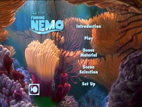 Finding Nemo Disc 1 Uk Dvd Menu Youtube
