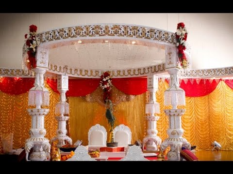 Background decoration for indian wedding youtube background decoration for indian wedding junglespirit Gallery
