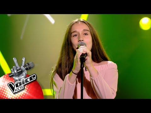 Marilys - Meant To Be  Blind Auditions  The Voice Kids  VTM