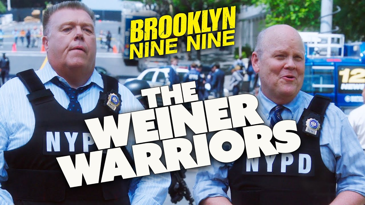 THE WEINER WARROIRS | Brooklyn Nine-Nine | Comedy Bites
