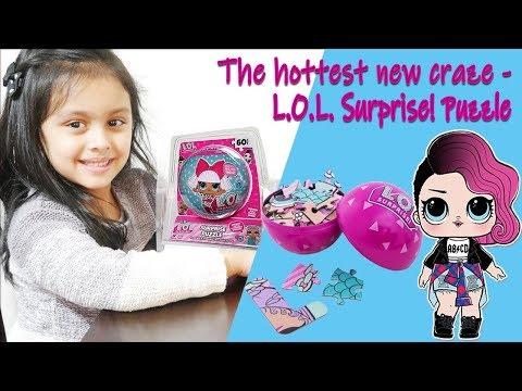 Spin Master LOL Toy Unboxing With 60 Piece Surprise Puzzle