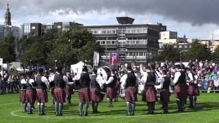 Police Service of Northern Ireland Pipe Band World Grade 2 Final 2013