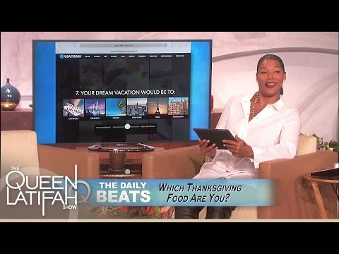 Daily Beats: Food Edition! | The Queen Latifah Show