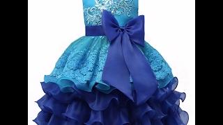 HAUL + UNBOXING : Покупки с AliExpress / РАСПАКОВКА ПОСЫЛки Бальное синее детское платье