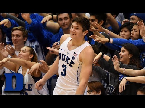 Grayson Allen Steal Turns Into Massive Dunk vs. Pitt