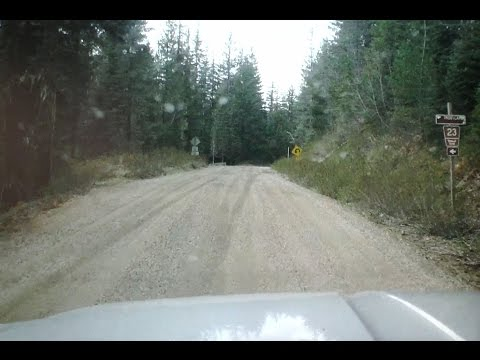 Seattle to Hood River  - No Freeways (featuring G. Pinchot NF Road 23) 051415