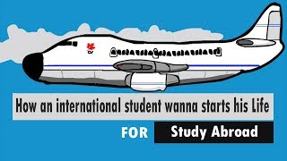Study Abroad |Student Life Begin For Abroad| Departure Scene 🛫