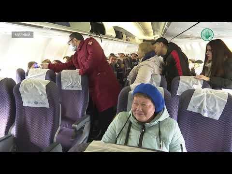 В аэропорту Мирного у всех пассажиров проверяют температуру