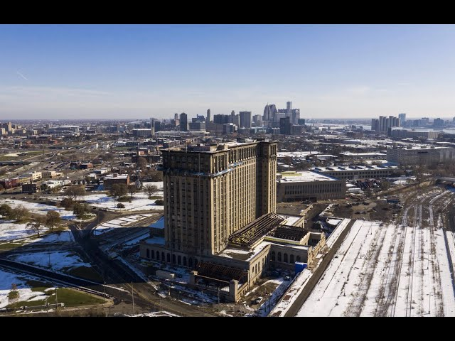 Detroitisit & Ford Motor Company | A Video Series. Michigan Central Station A Restoration with Ford