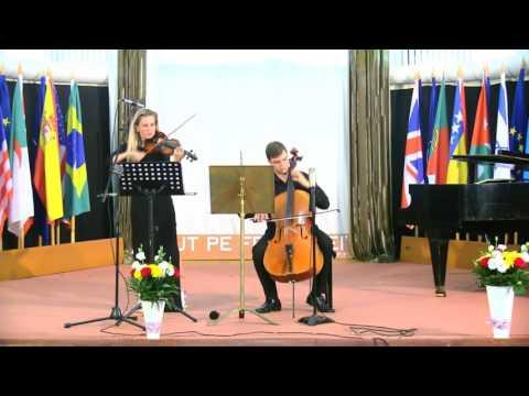 Roxana Pavel Goldstein si Andrei Ionita - Recital de vioara si violoncel
