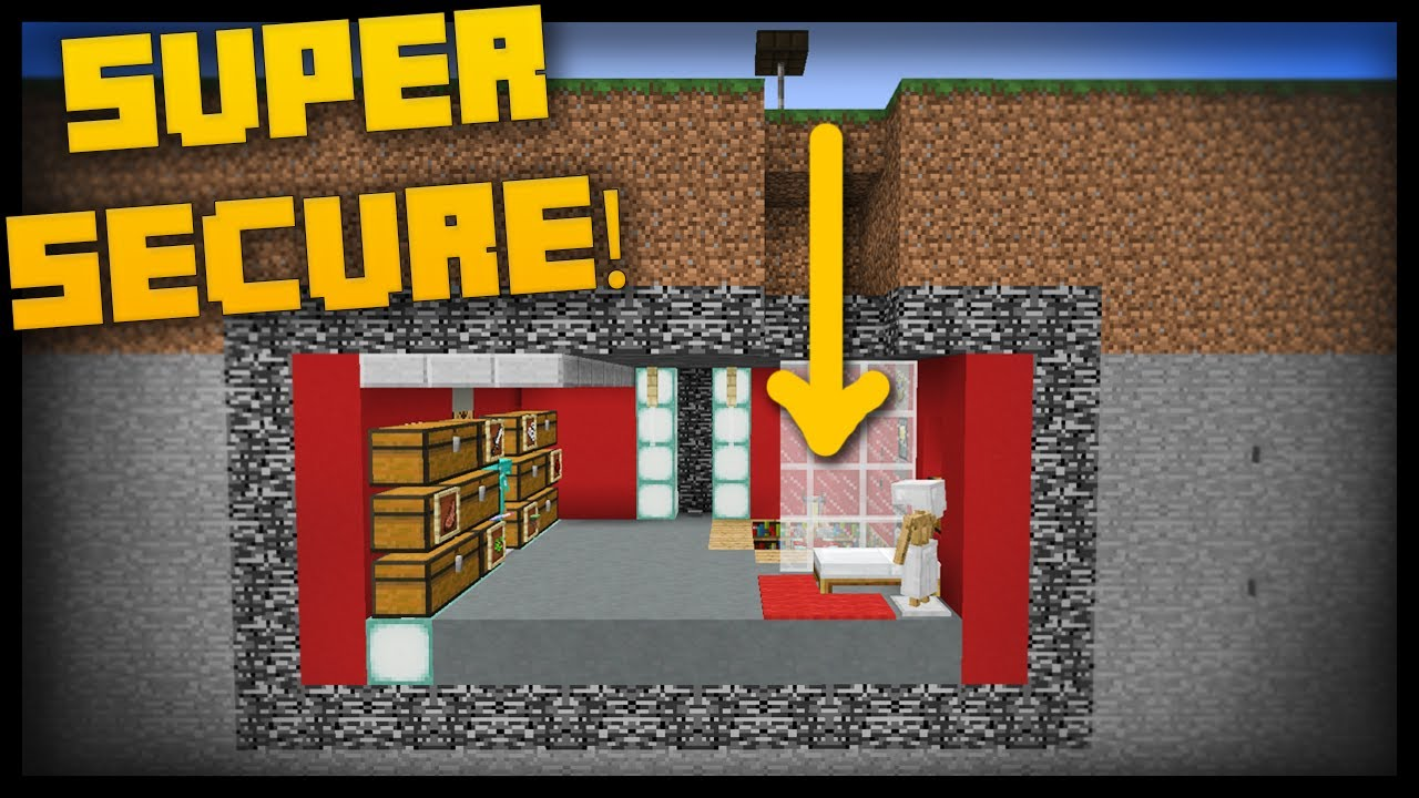 The Minecraft COMMAND BLOCK BUNKER YouTube - Minecraft hauser map