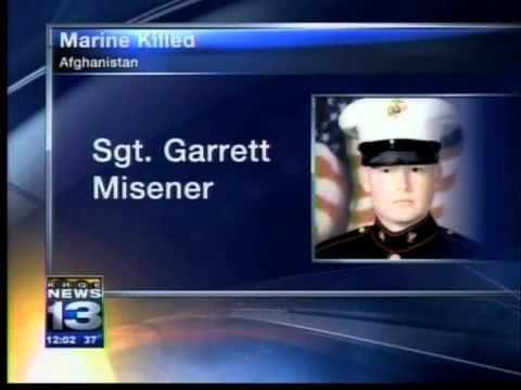 Funeral held for Marine war casualty