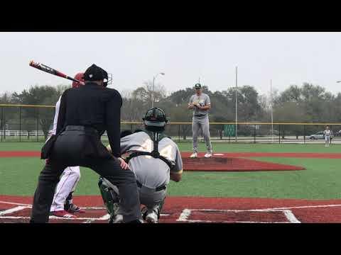 Jackson Rutledge (3-2-2019) vs Wharton County Junior College (Bryan, TX).