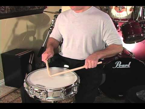 a fresh approach to snare drum lesson 11 b quarter note rolls youtube. Black Bedroom Furniture Sets. Home Design Ideas