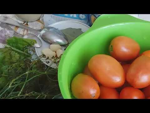 Как посолить бурые помидоры на зиму