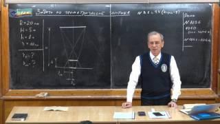 Урок 393. Задачи на законы геометрической оптики