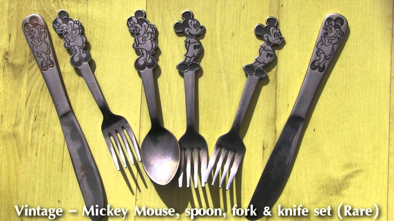 spoon Vintage mickey mouse
